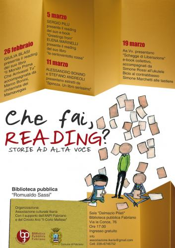 Che fai, reading?